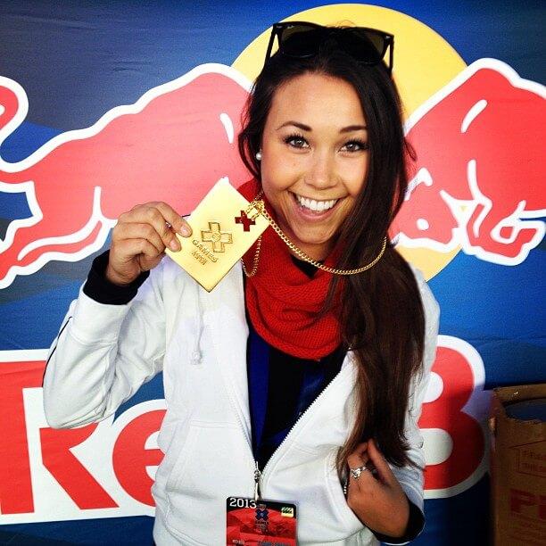 Wearing an actual #xgames gold medal! #redbullwxg #redbull #givesyouwings