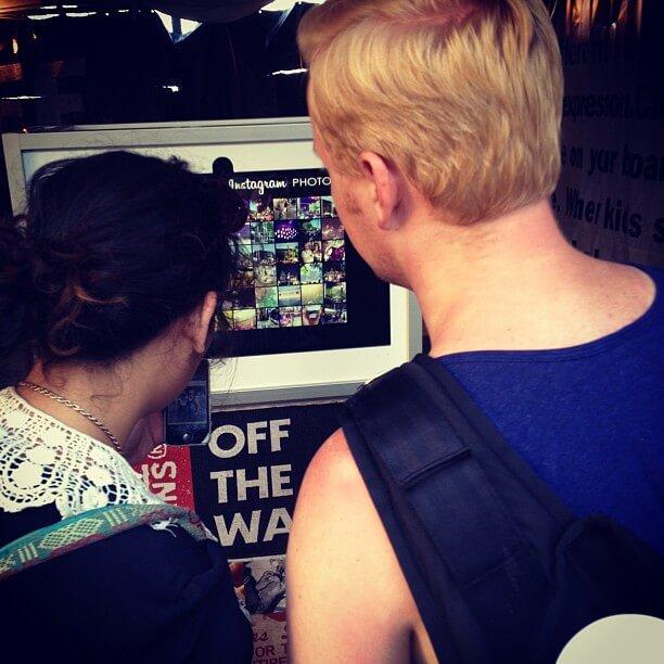 Instagram Photo Video Kiosk