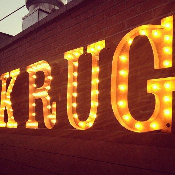 Instagram Print Station at Krug House
