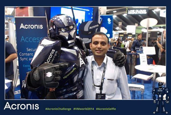 vmworld social photo booth