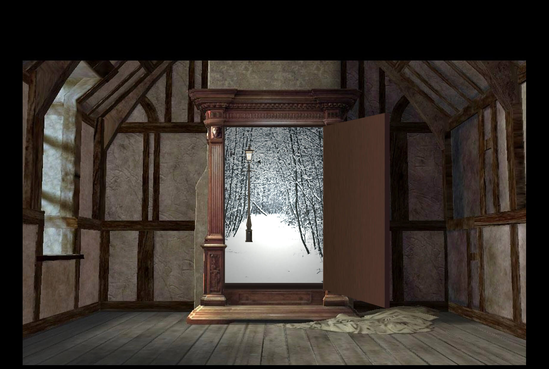 Narnia Green Screen Photo Booth