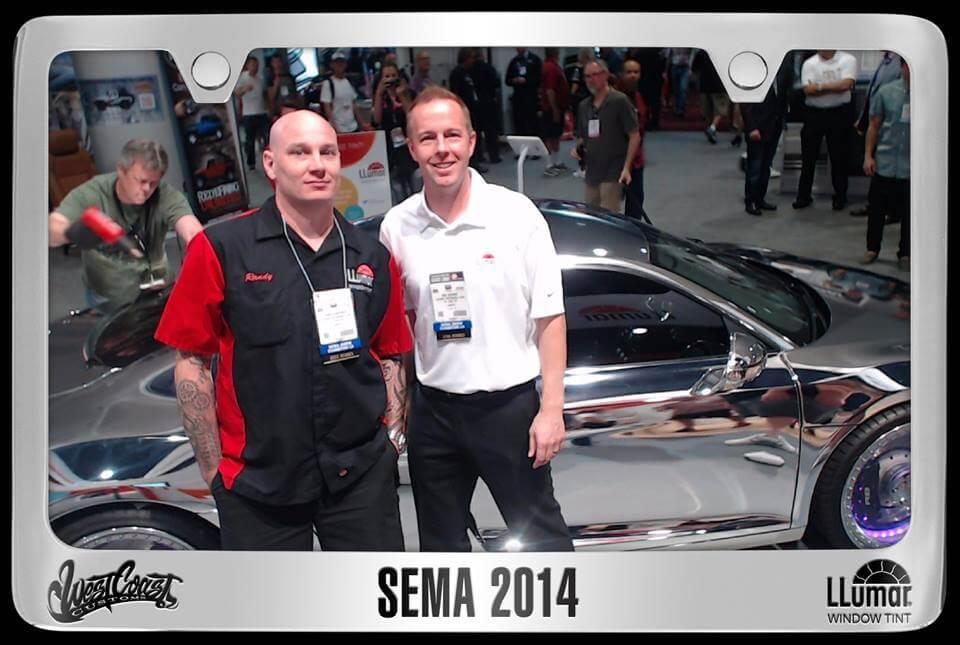 Sema 2014 License Plate