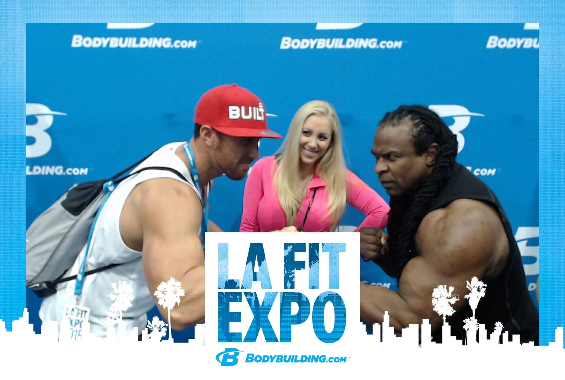 LA Fit Expo Photo Booth