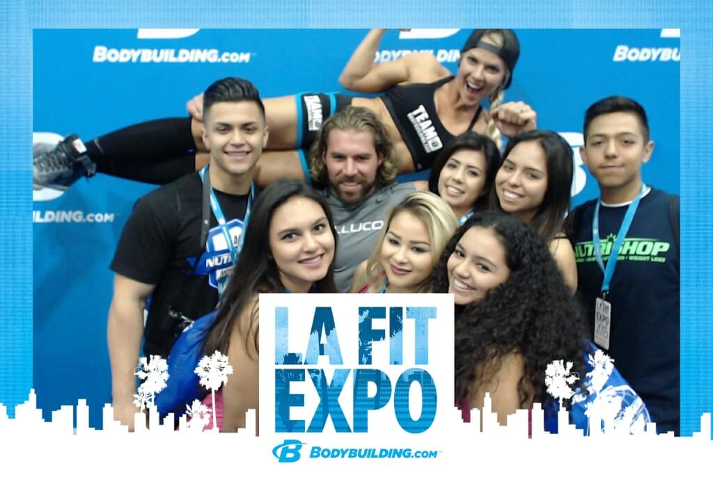 LA Fit Expo Photo Booth Kiosk