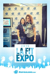 LA Fit Expo Instagram Photo Booth