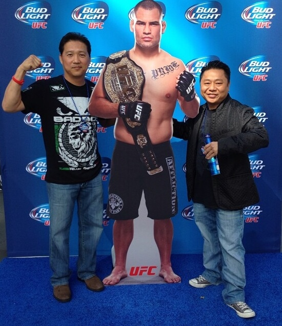 ufc bud light photo activation