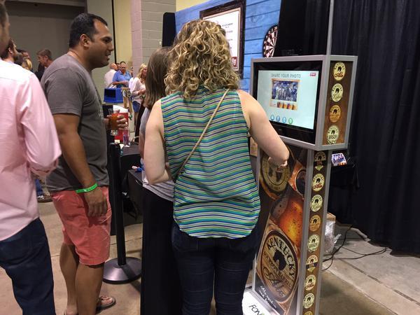 AllTech Brew Fest photo kiosk