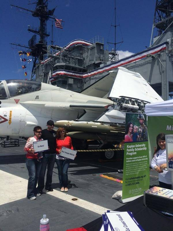 social photo kiosk activation uss midway