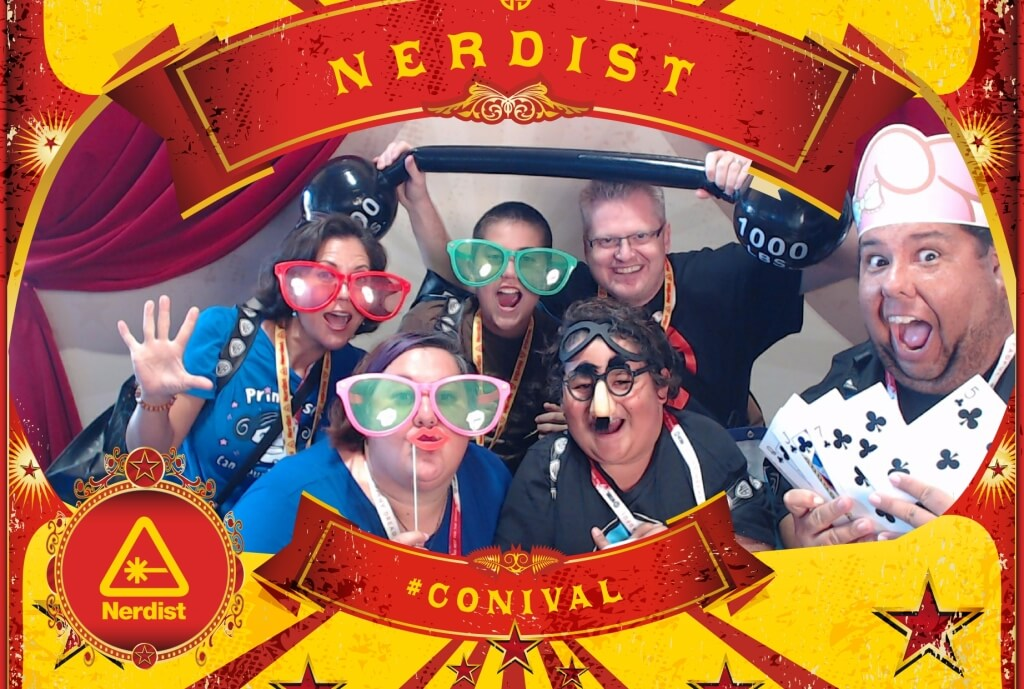 nerdist photo booth conival comic con 2015
