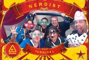 nerdist photo booth conival comic con 2015