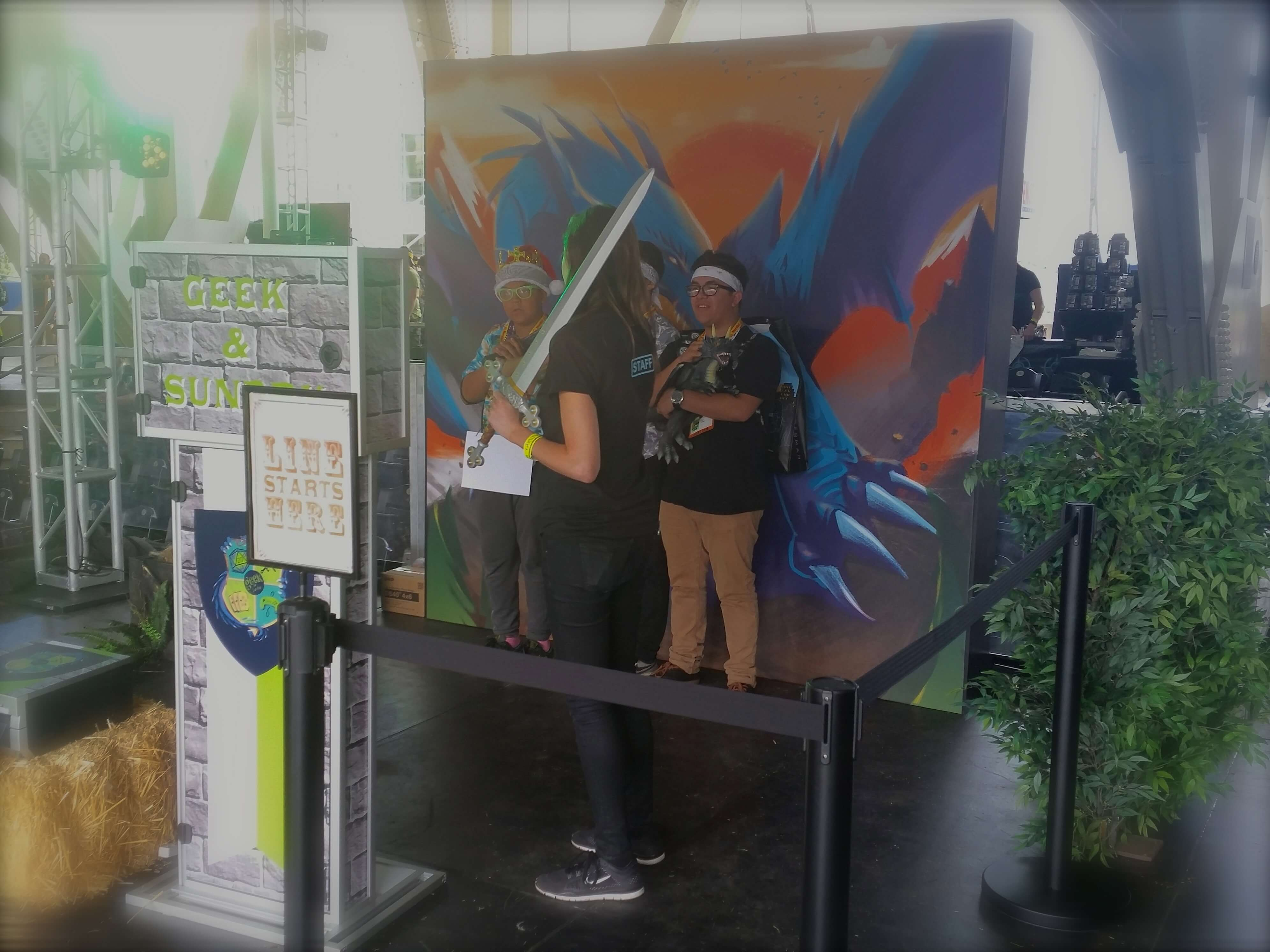 social photo kiosk conival comic con 2015