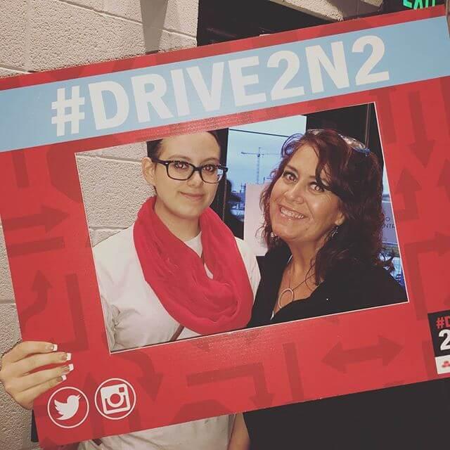 Drive2n2 Hashtag Print Station