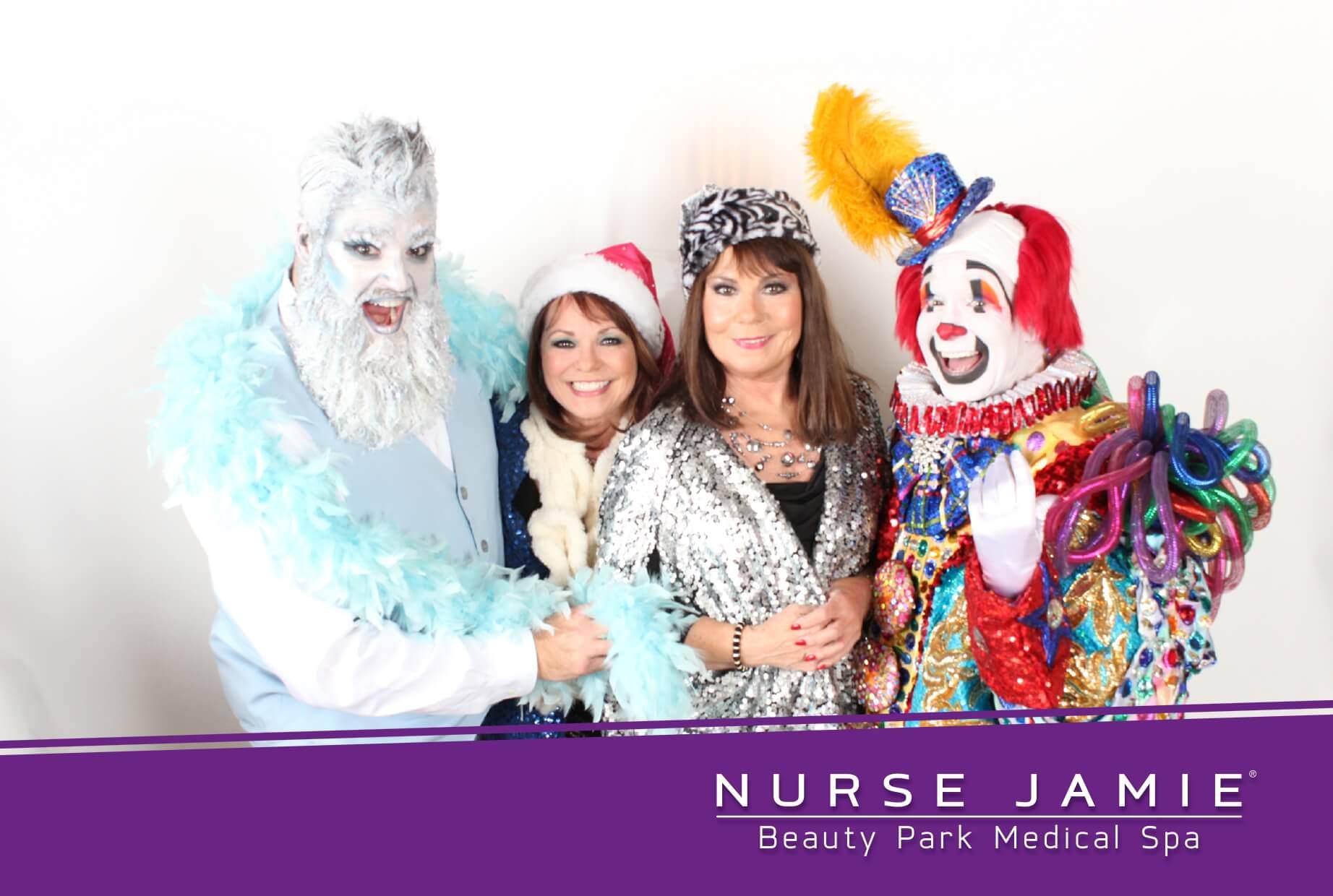 Nurse Jaime Photo Booth