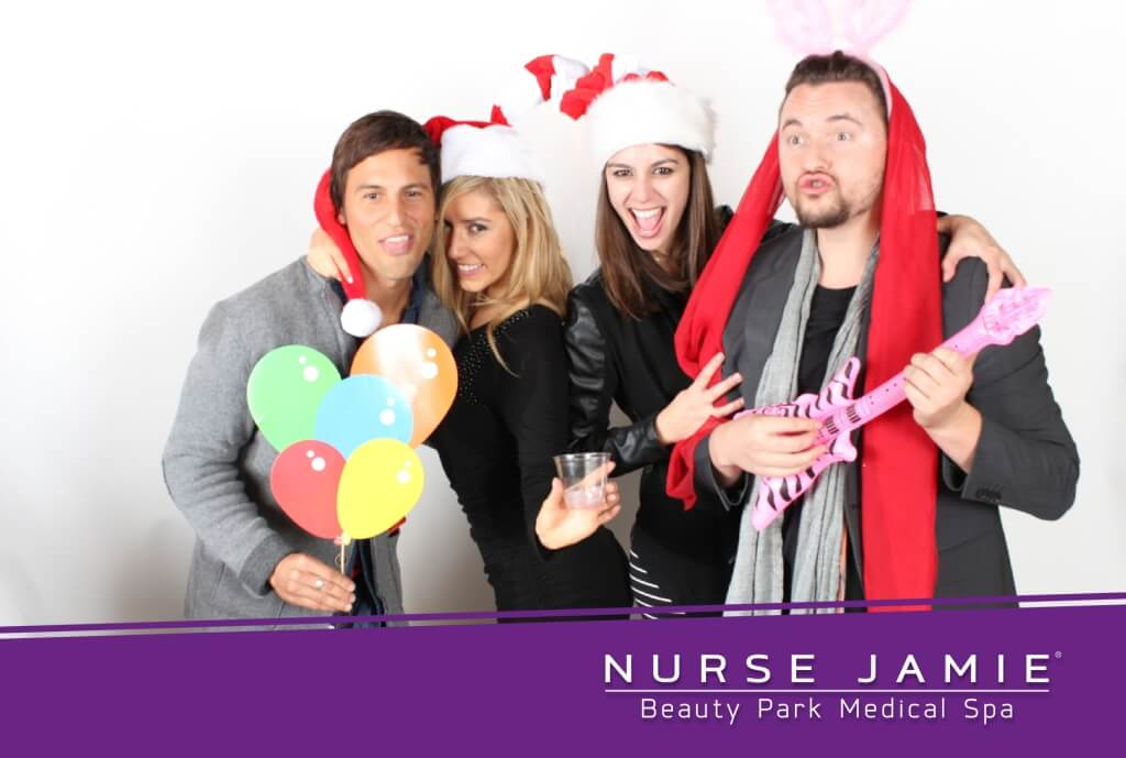 Nurse Jaime Holiday Photo Booth
