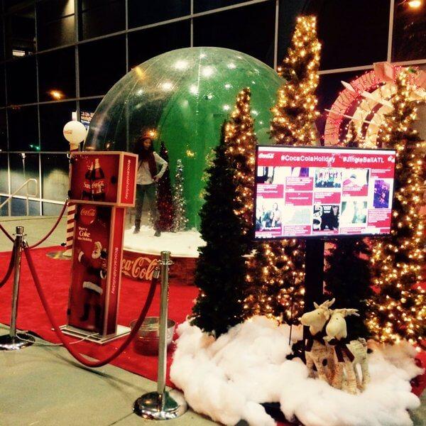 SocialBuzz Green Screen Kiosk