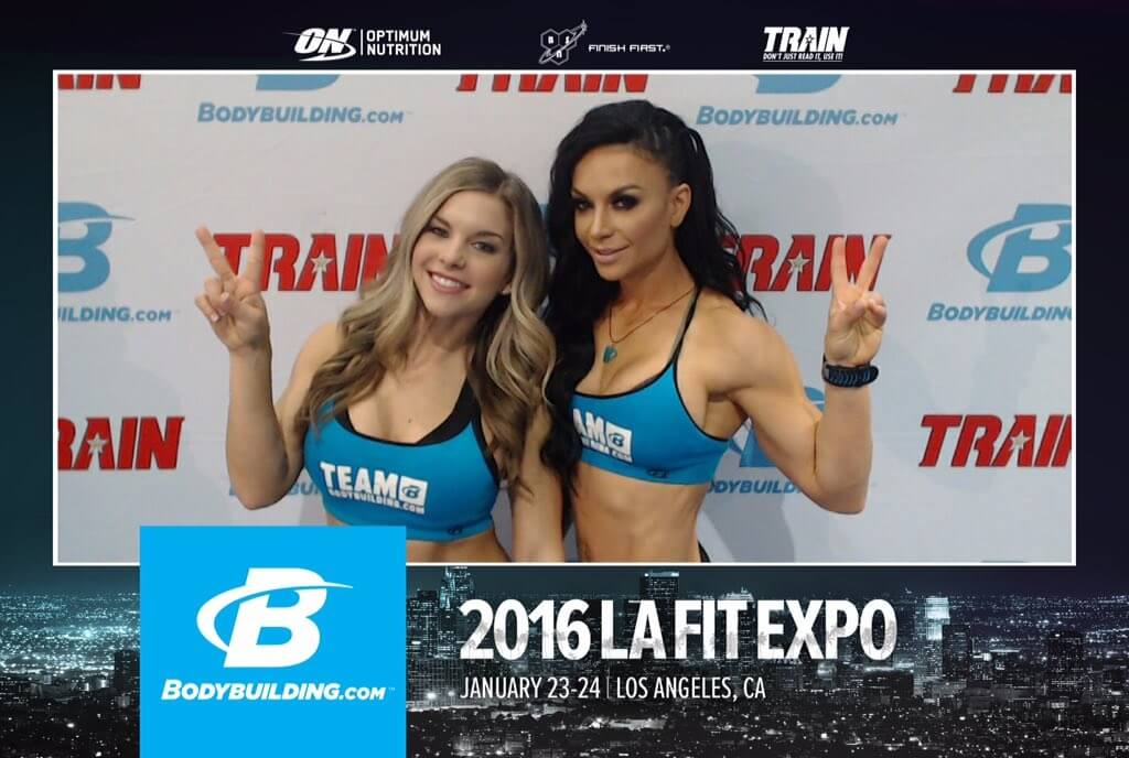 2016 LA Fit Expo Social Photo Booth
