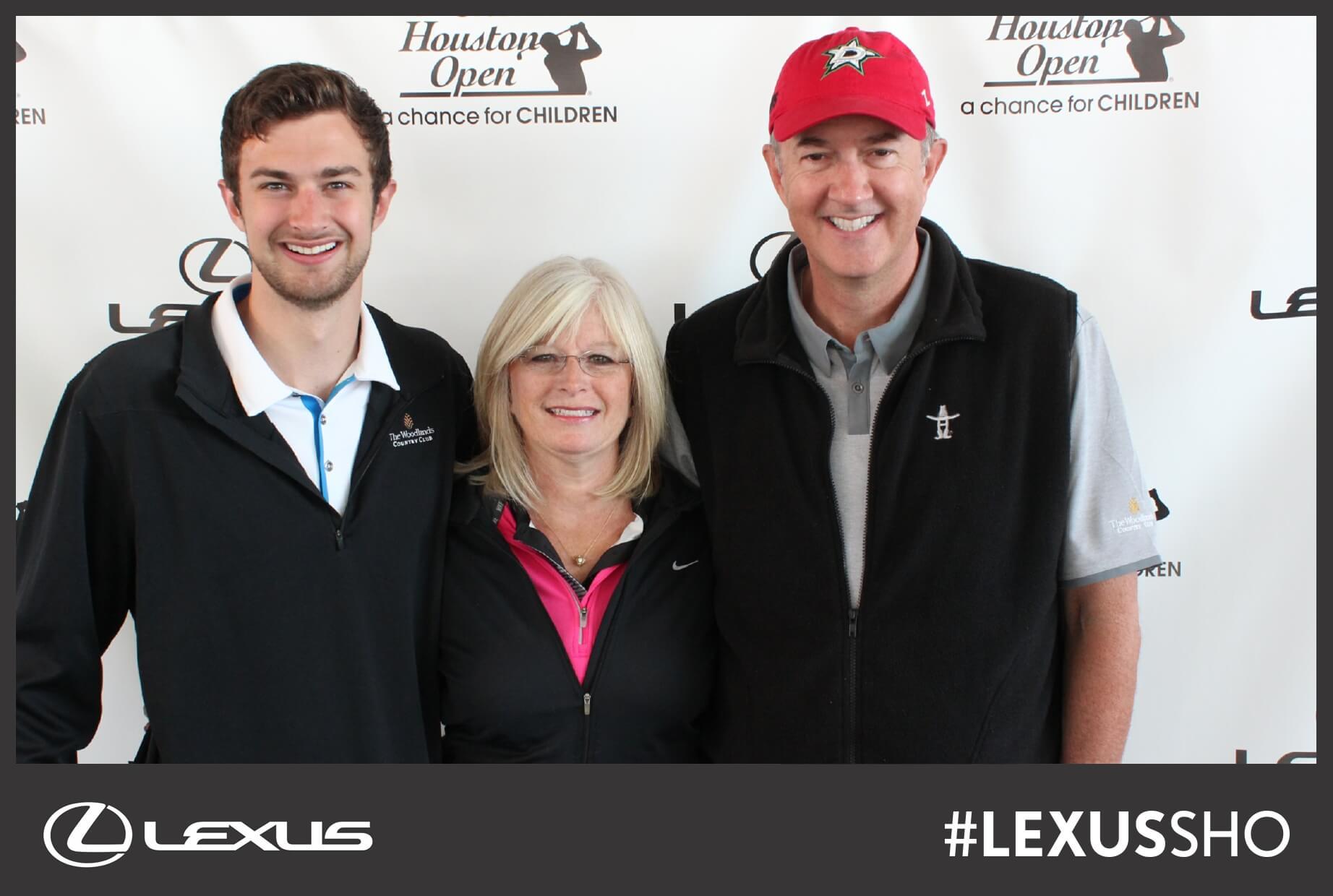PGA Houston Shell Open photo booth