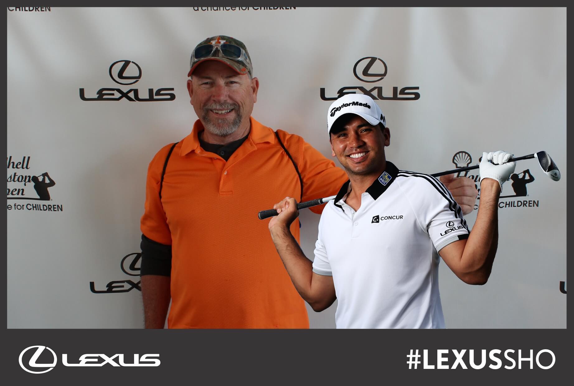 PGA Houston Shell Open photo kiosk