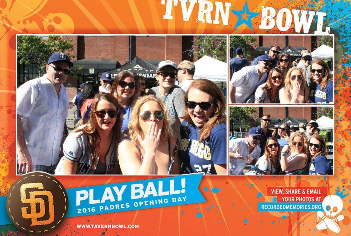 padres social photo booth