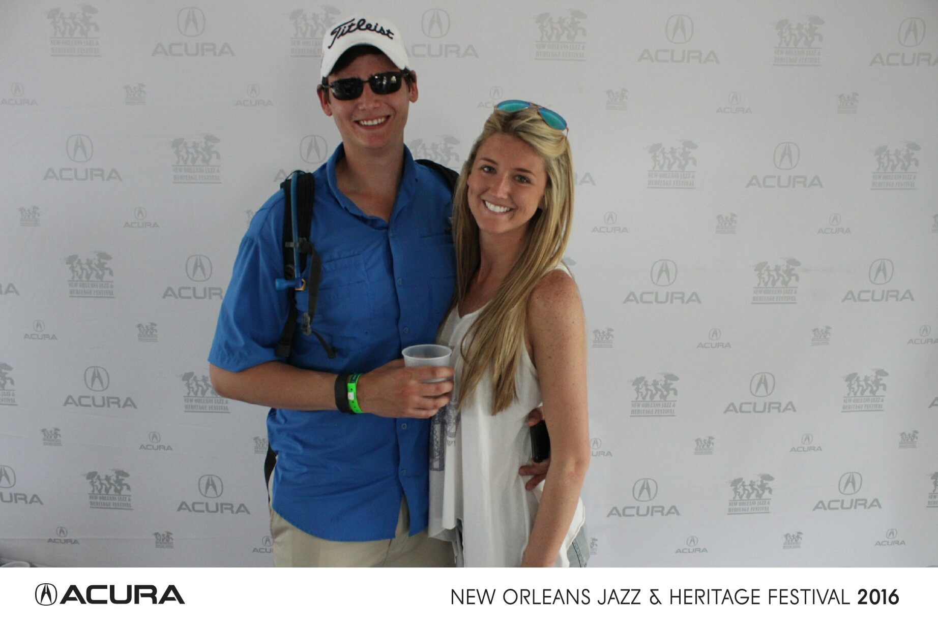 new orleans jazz festival social media photo booth
