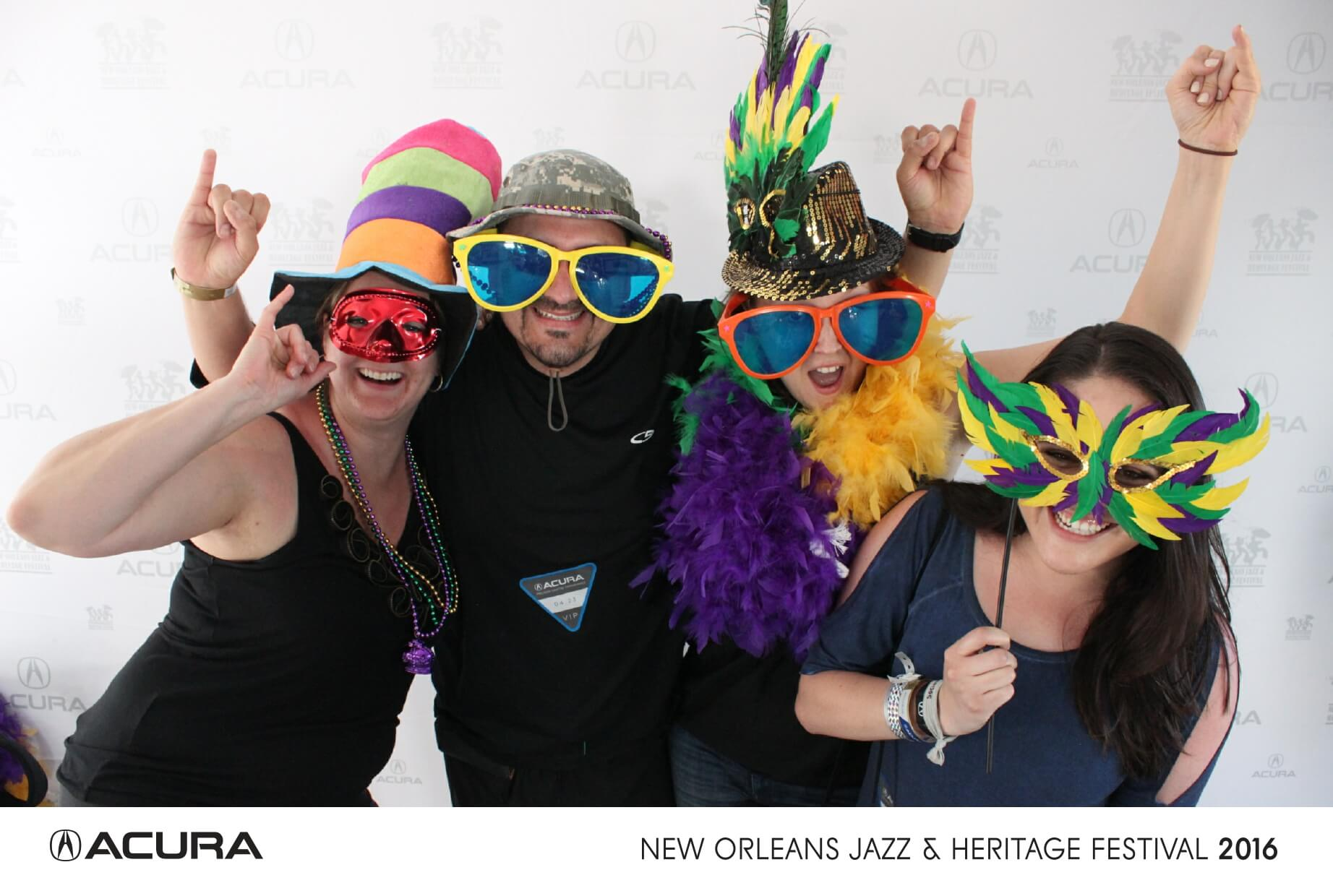 new orleans jazz festival photo booth