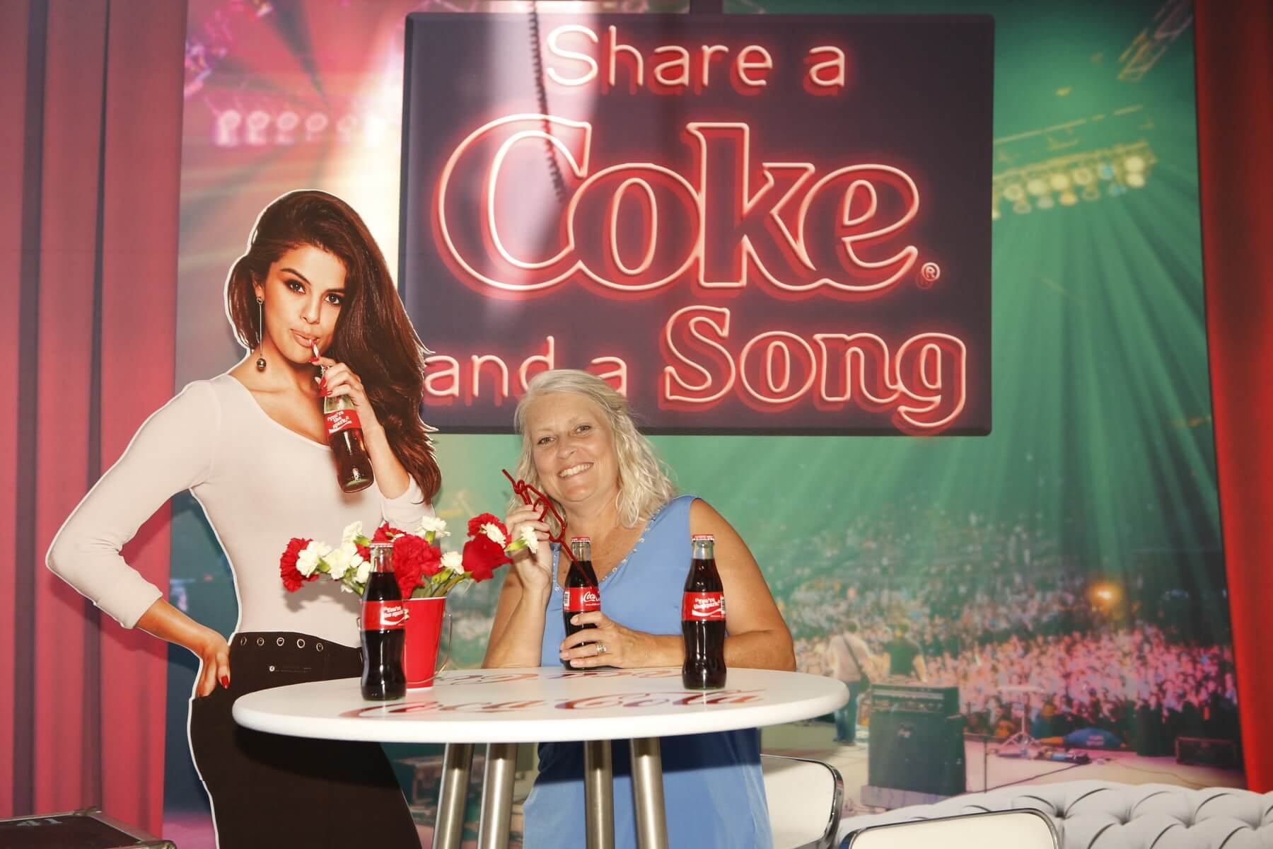 coca cola photo activations