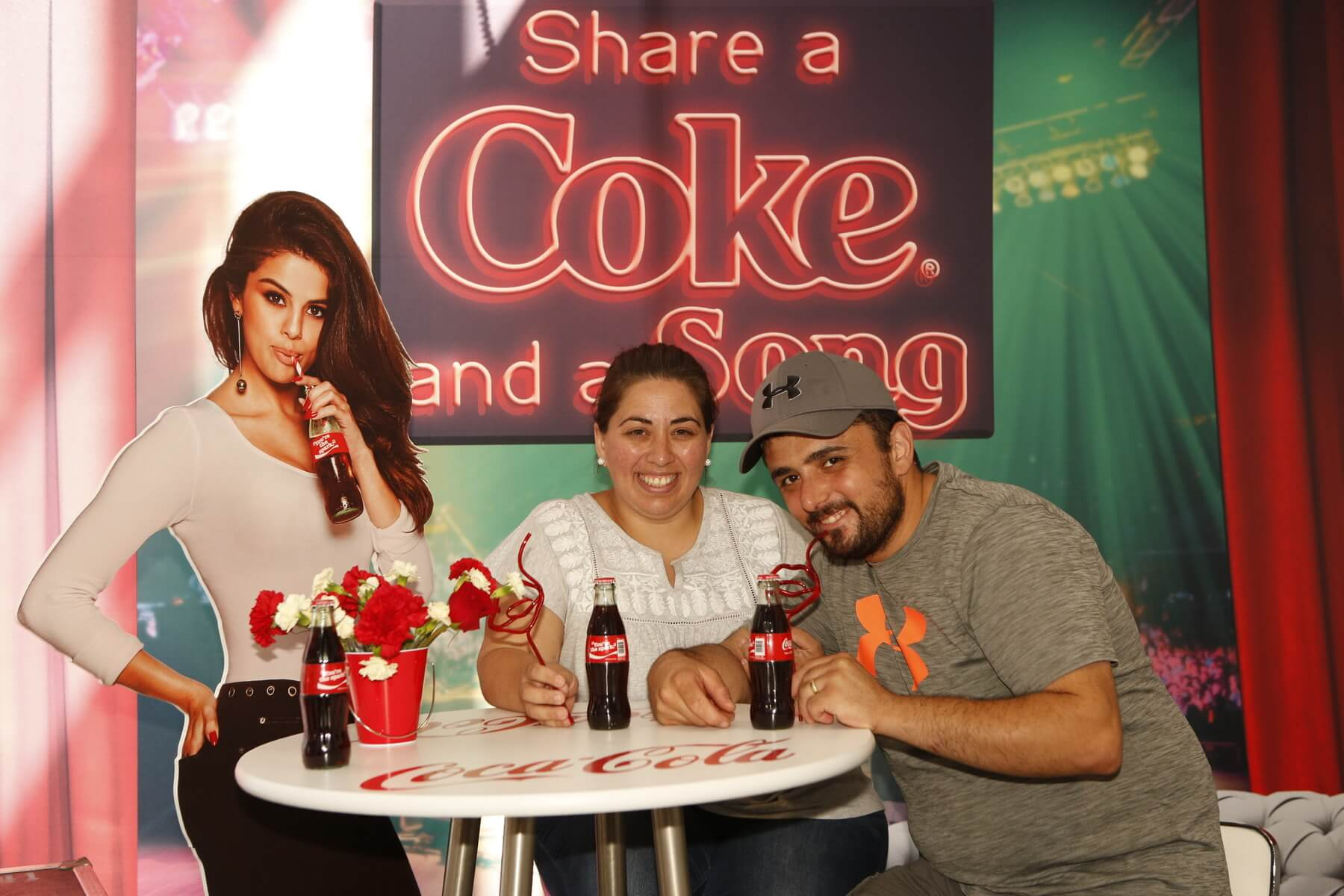 coca cola photo activation
