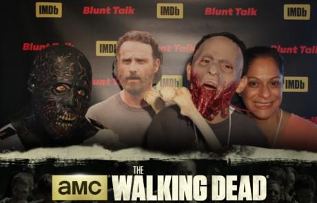 Comic Con Walking Dead Photo Booth