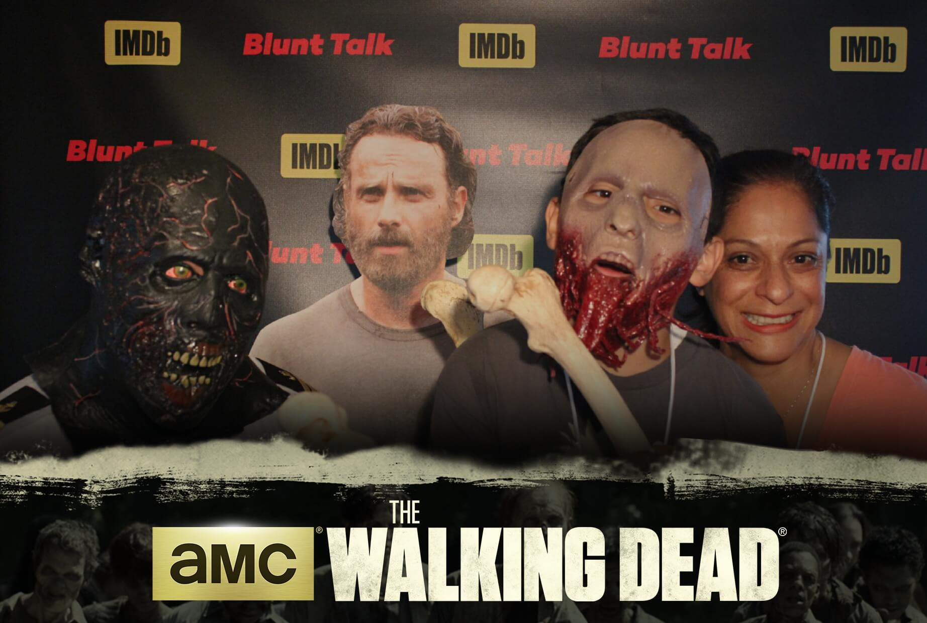 Comic Con Walking Dead Photo Booth