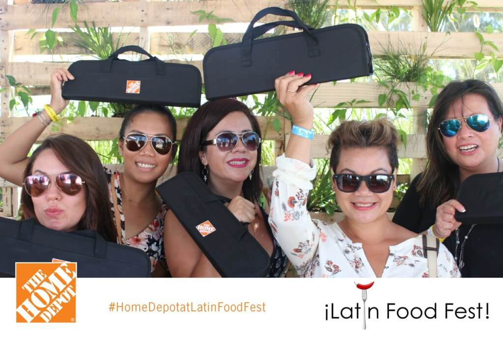 food festival photo booth kiosk