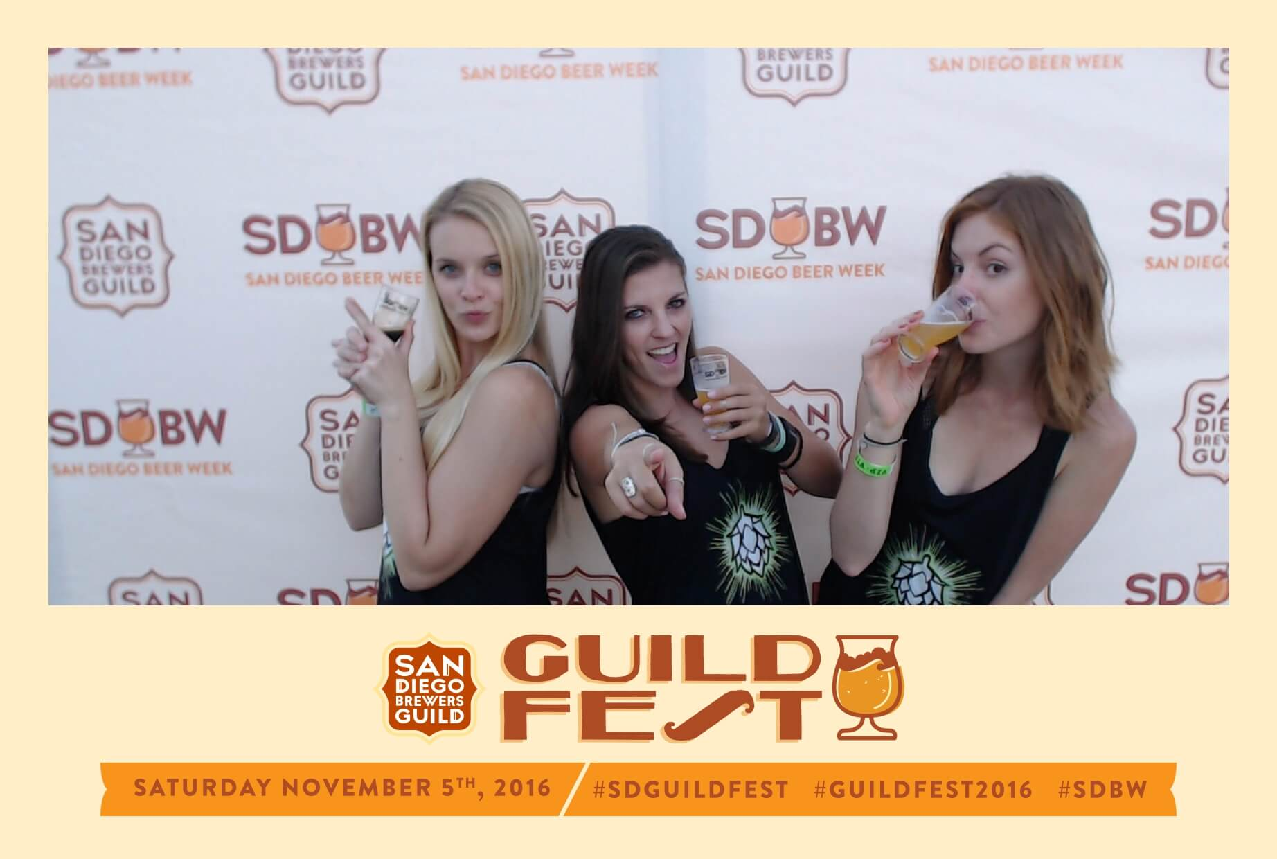 san diego guild fest social media photo booth