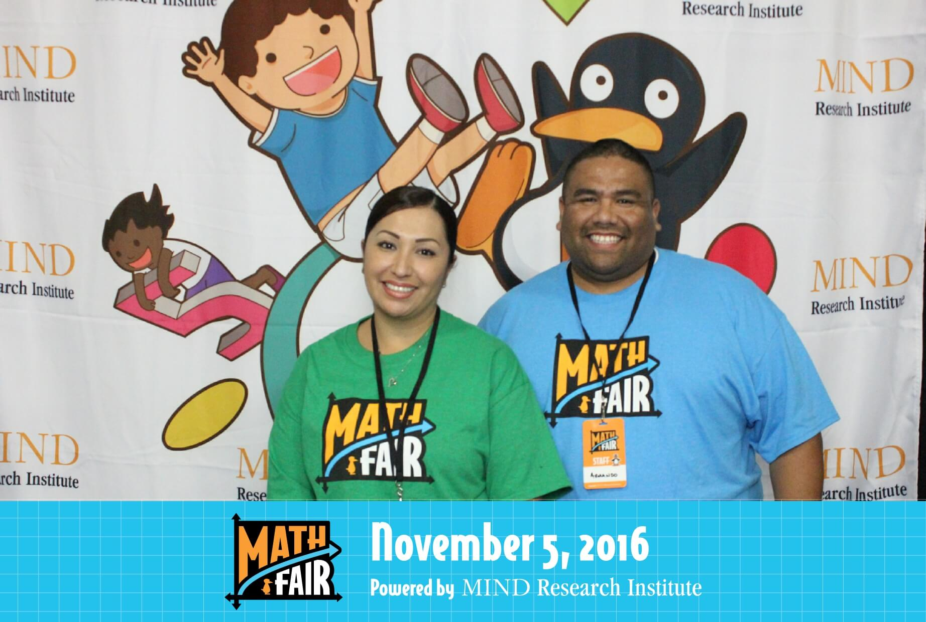 math fair photo booth