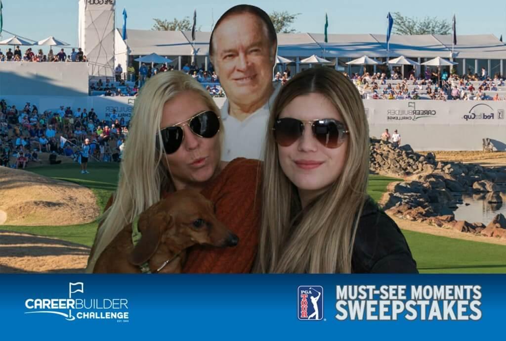 PGA Golf Green Screen Photo Booth