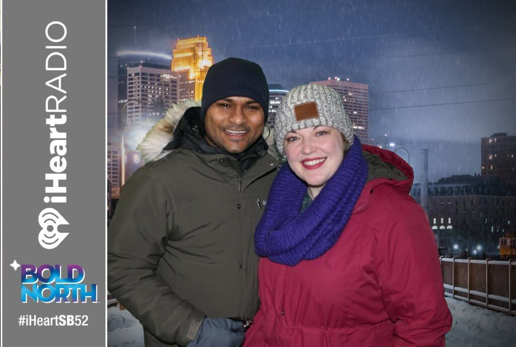 super bowl green screen photo booth
